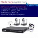 Kit VIVOTEK CCTV IP para tiendas