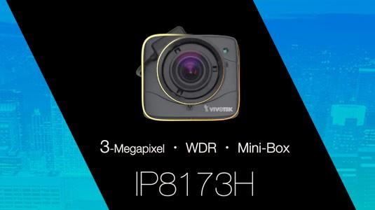 IP8173H Cámara IP tipo Mini Box 3MP