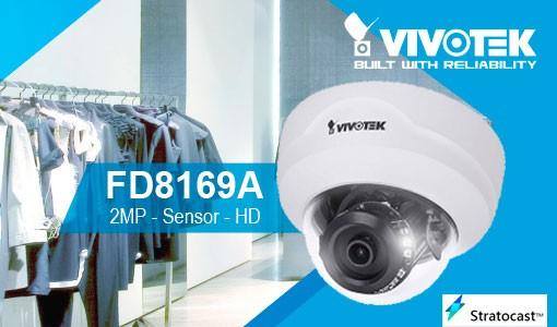 VIVOTEK Cámara FD8169A - 2MP - HD - sensor